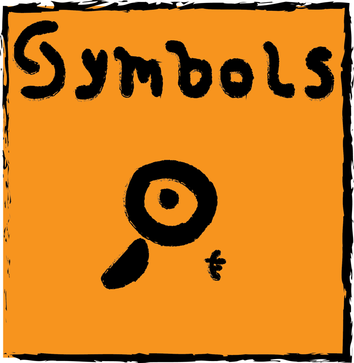 Symbols Font cartoon text
