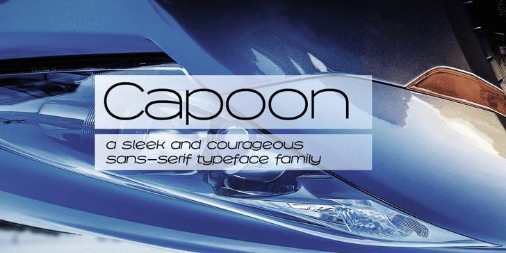 Capoon PERSONAL USE Font screenshot indoor