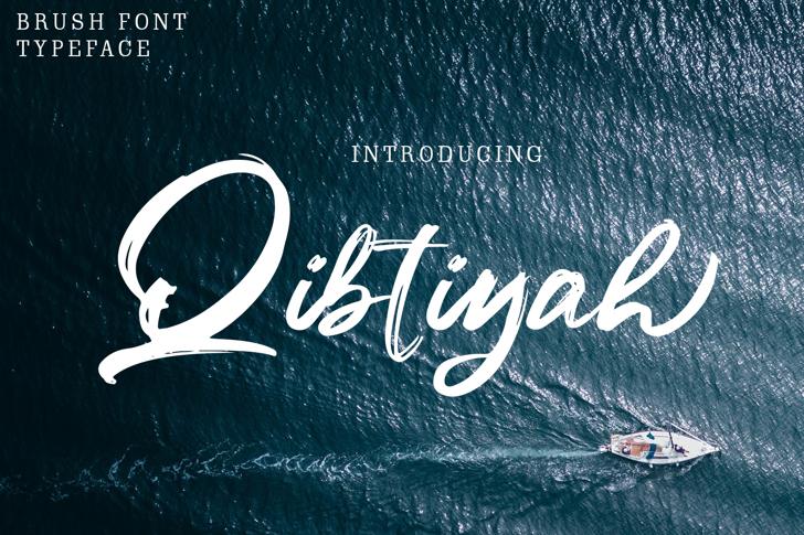 Qibtiyah Font poster