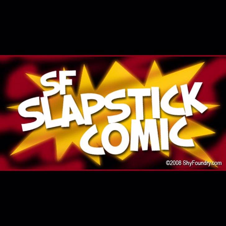 SF Slapstick Comic Font design screenshot