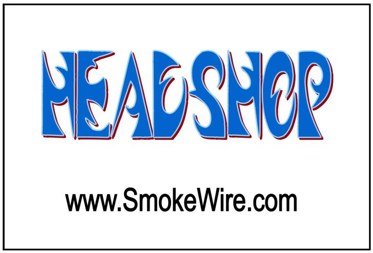 Headshop Font design graphic