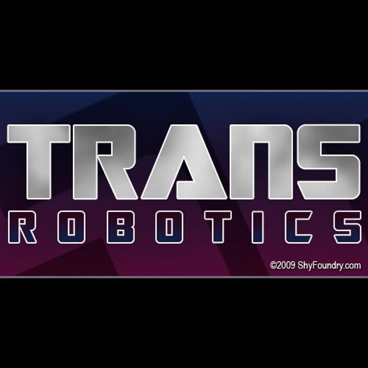 SF TransRobotics Font screenshot logo