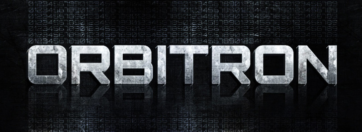 Orbitron Font screenshot font