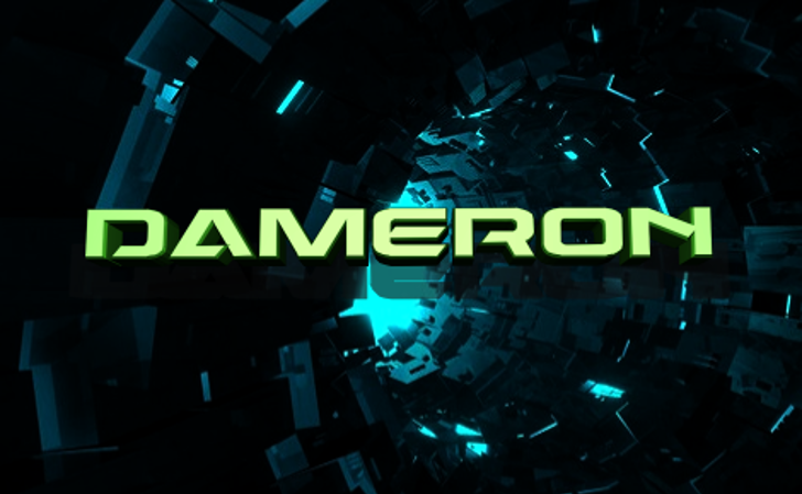 Dameron Font screenshot crowd