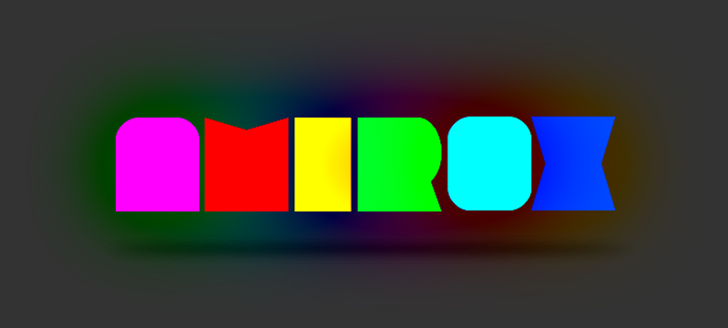 Amirox Font creativity graphic