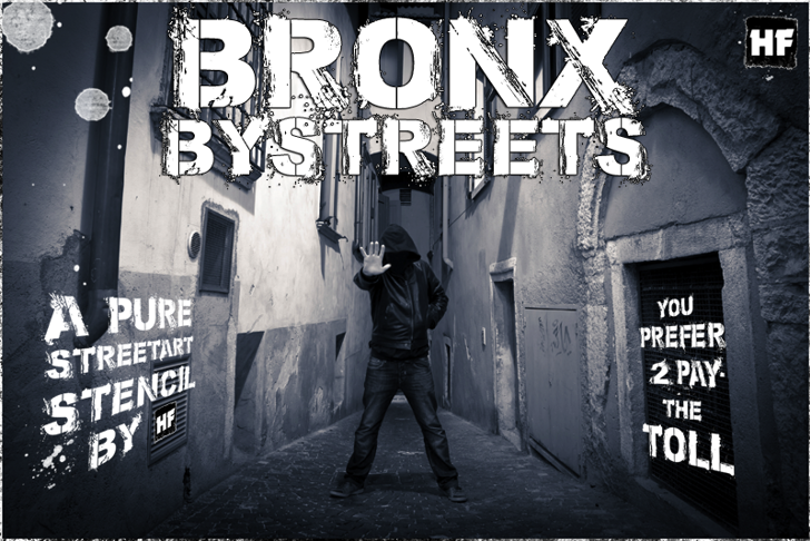 Bronx Bystreets Font clothing street