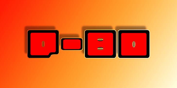 Q-bo Font sky orange