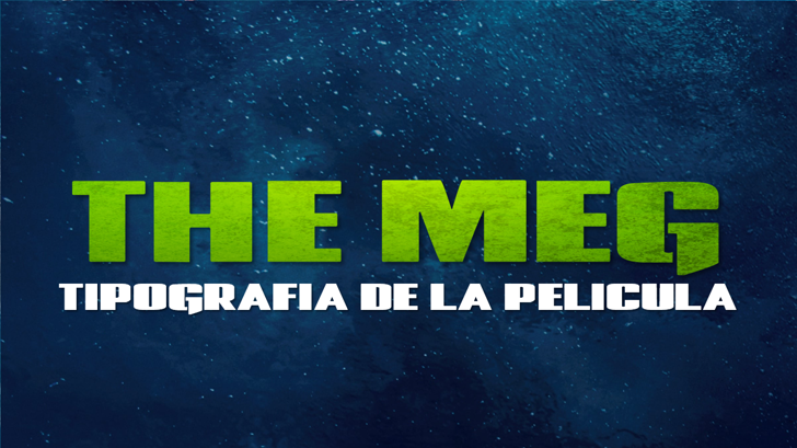 The Meg Font screenshot poster