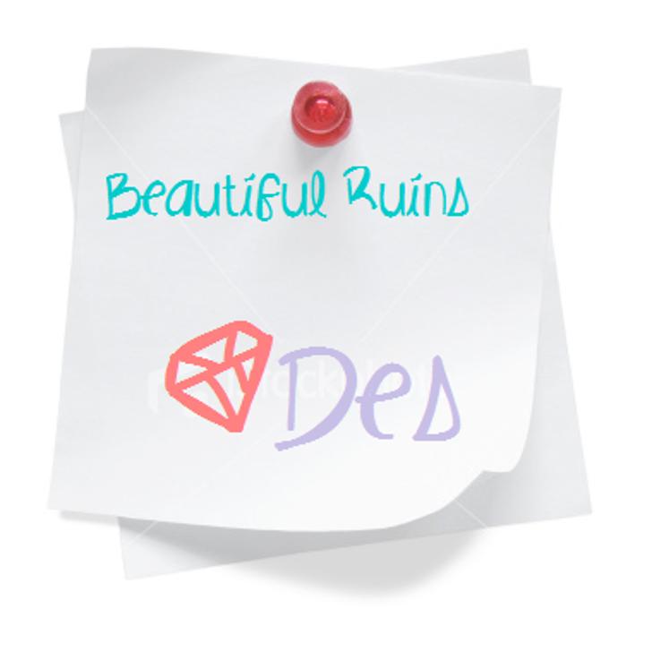 BeautifulRuins Font design handwriting