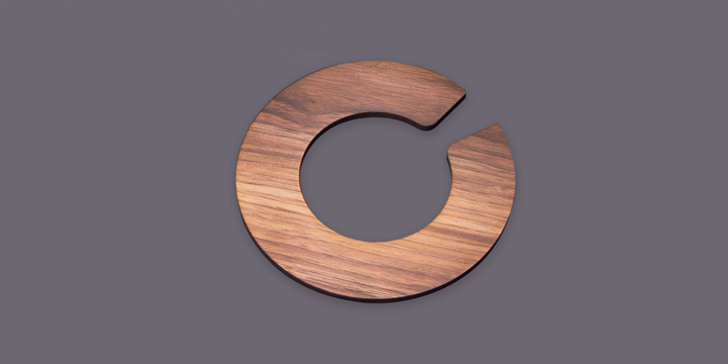 Enso Font design abstract