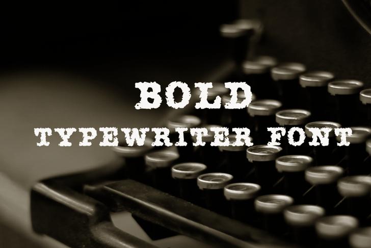 AMTW-R Font indoor typewriter
