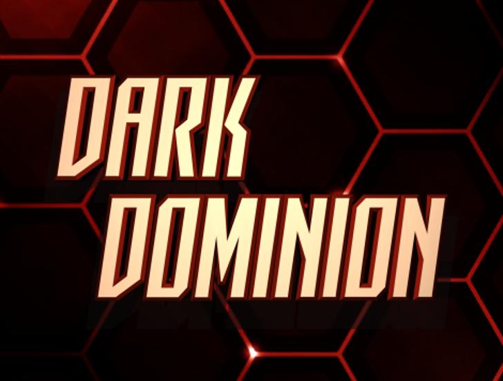 Dark Dominion Font design screenshot