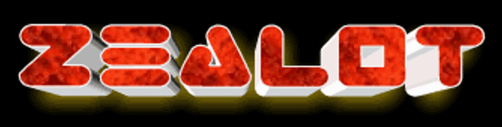 Zealot Font screenshot abstract