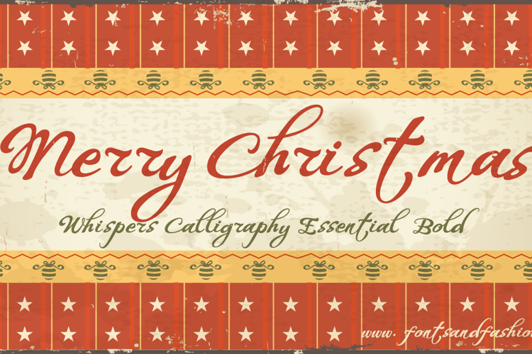 Whispers Calligraphy Essential Font