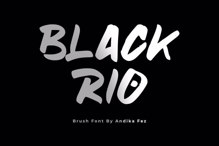 blackrio Font