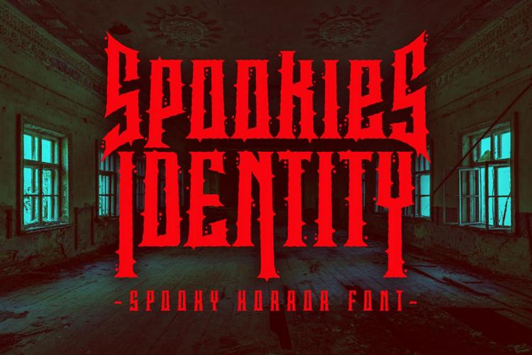 Spookies Identity Font