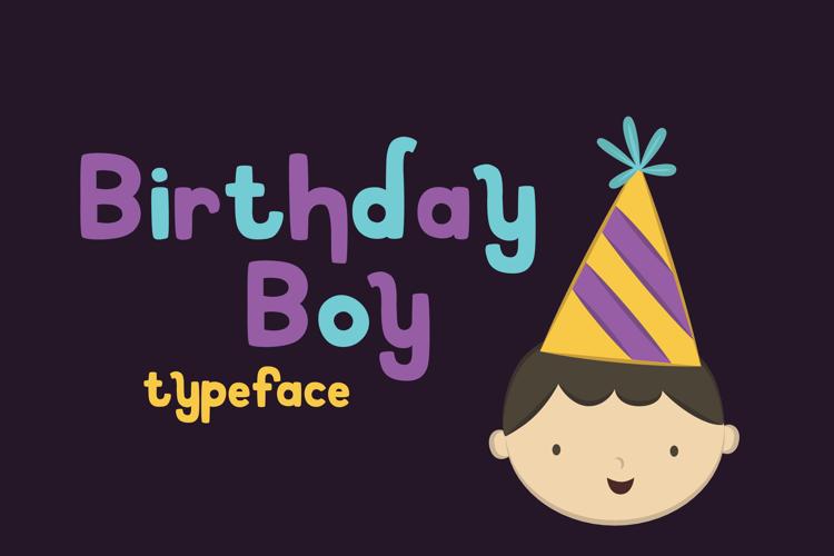 Birthday Boy Font
