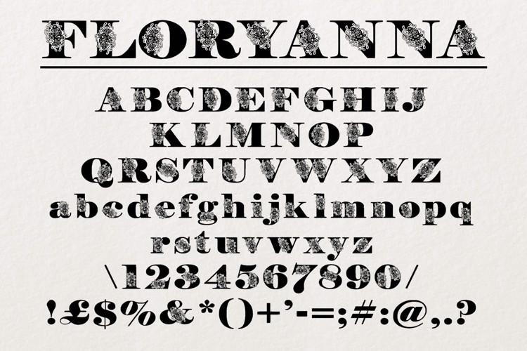 FloryAnna Font