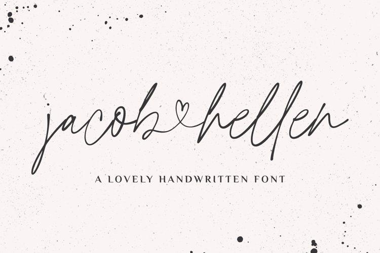 Jacob & Hellen Font