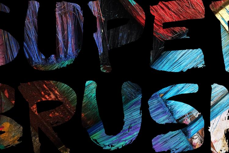 DK Superbrush Font