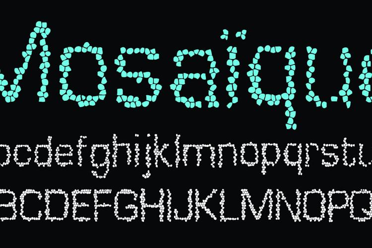 Mosaique Font
