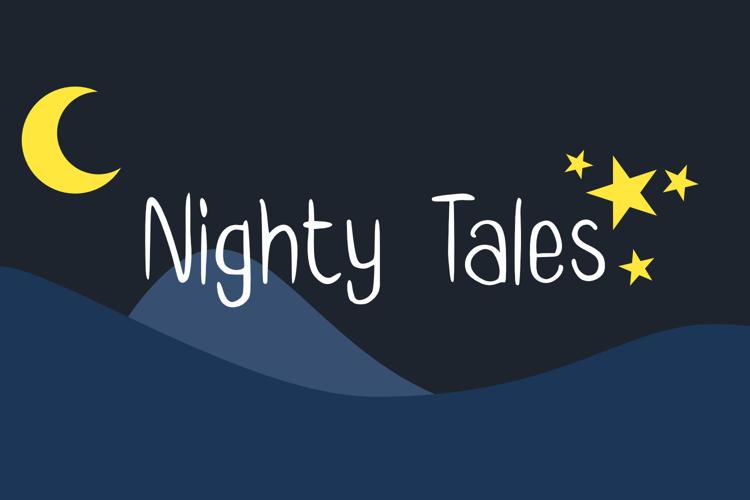 Nighty Tales GT Font