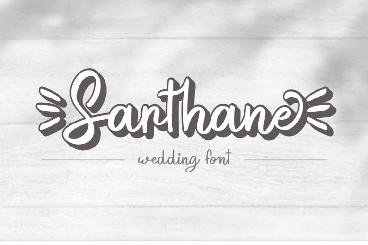 Sarthane Font
