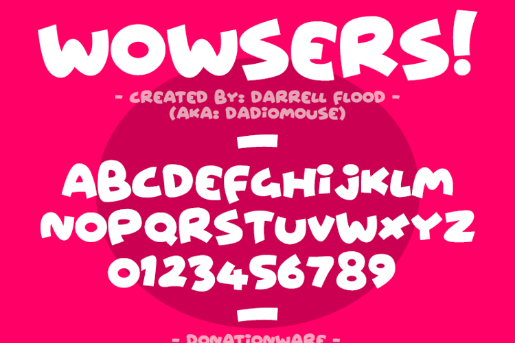 Wowsers Font