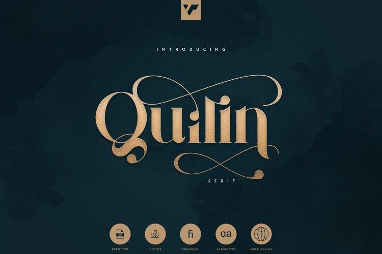 QUILIN SERIF Font
