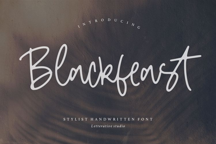 Blackfeast Font