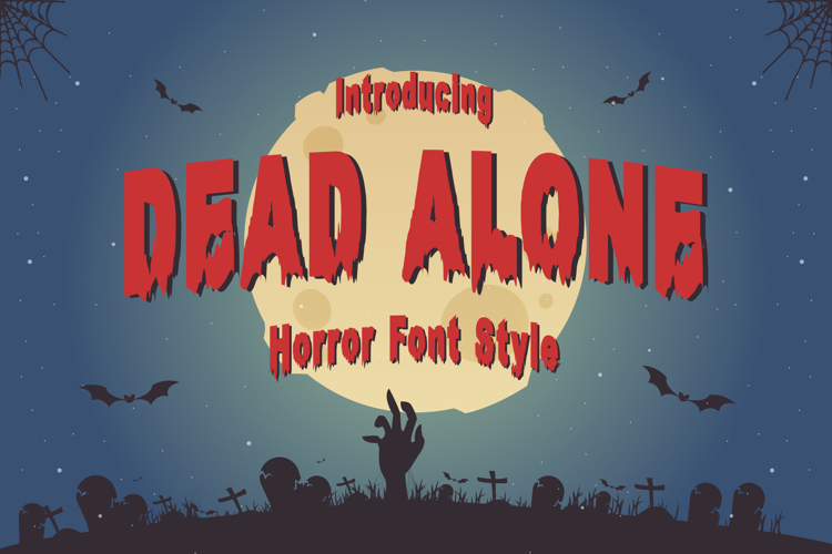 Dead Alone Font