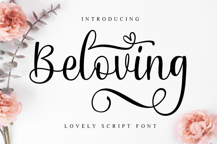 Beloving Font