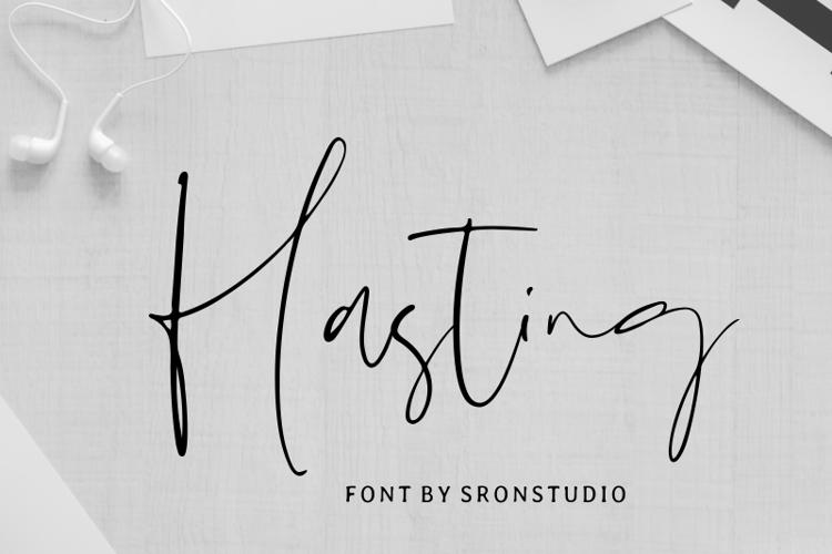 Hasting Font
