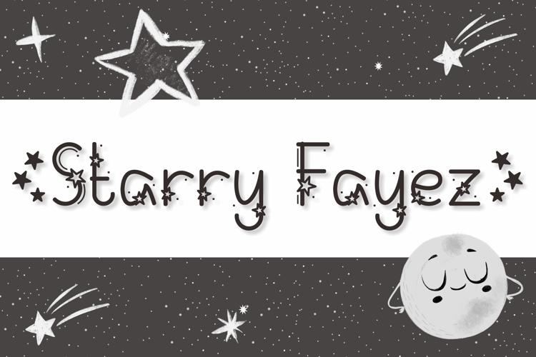 Starry Fayez Font