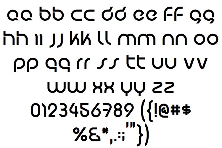 Predatron Font