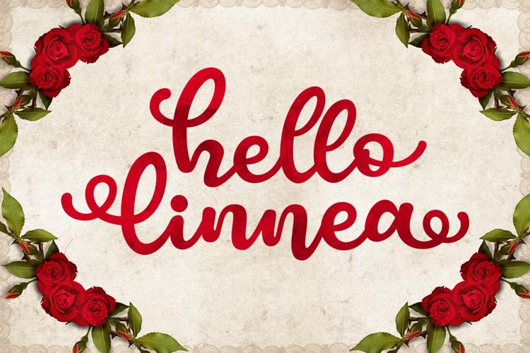 Hello Linnea Font