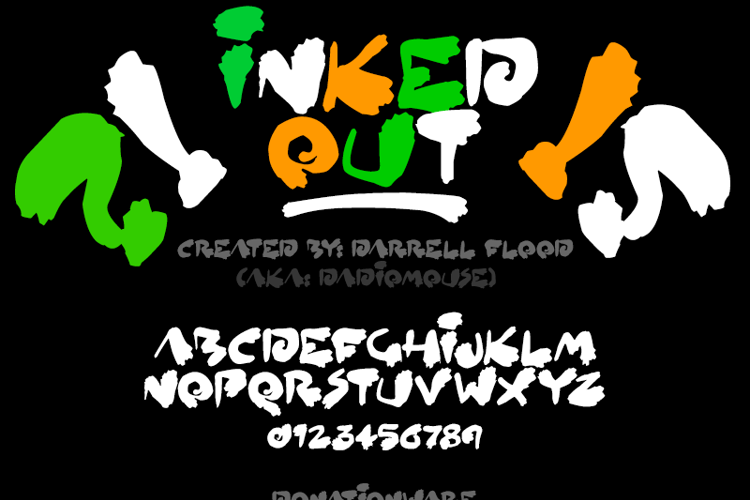 Inked Out Font
