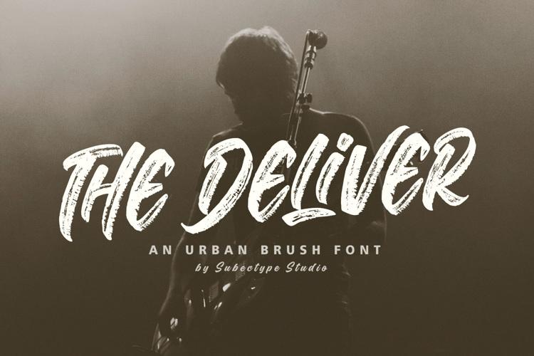The Deliver Font