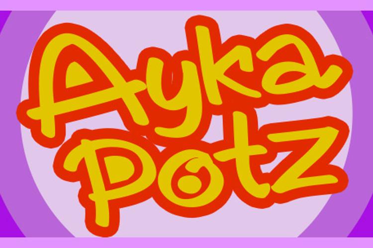 AykaPoTz Font