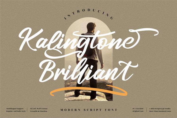Kalingtone Brilliant Font