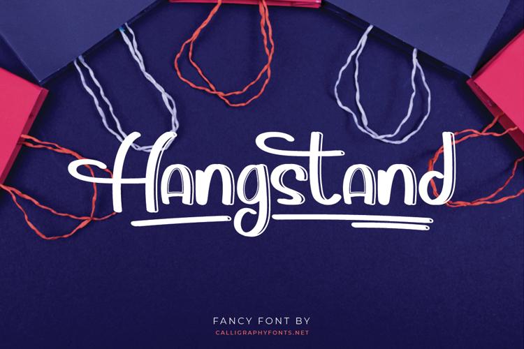 Hangstand Font