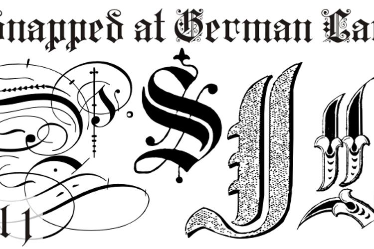 Kidnapped at German Lands Font