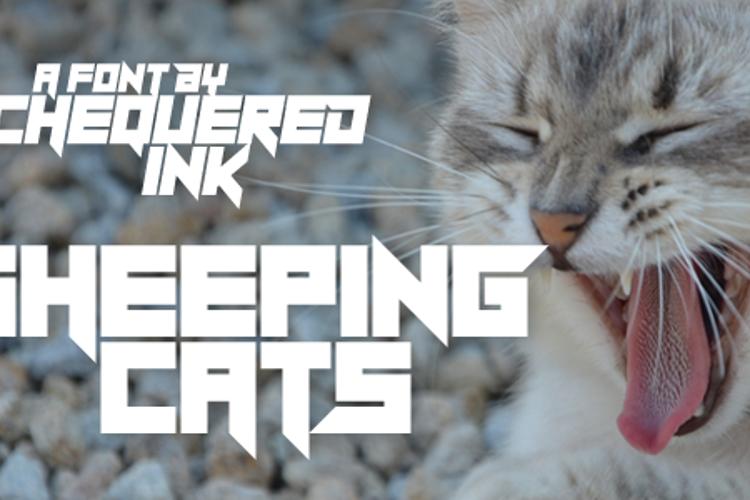 Sheeping Cats Font