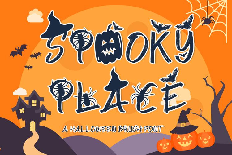 Spooky Place Font