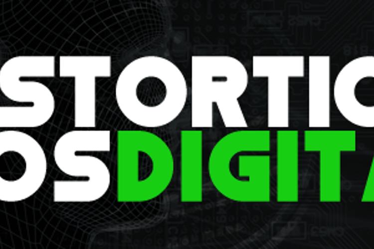 Distortion Dos Digital Font