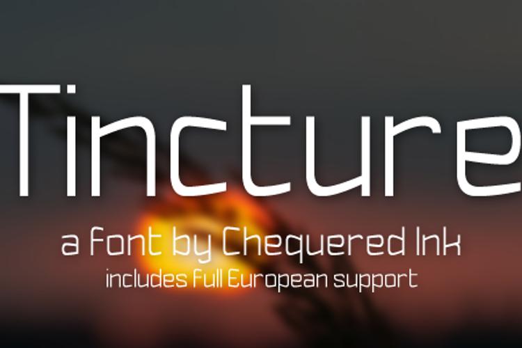 Tincture Font