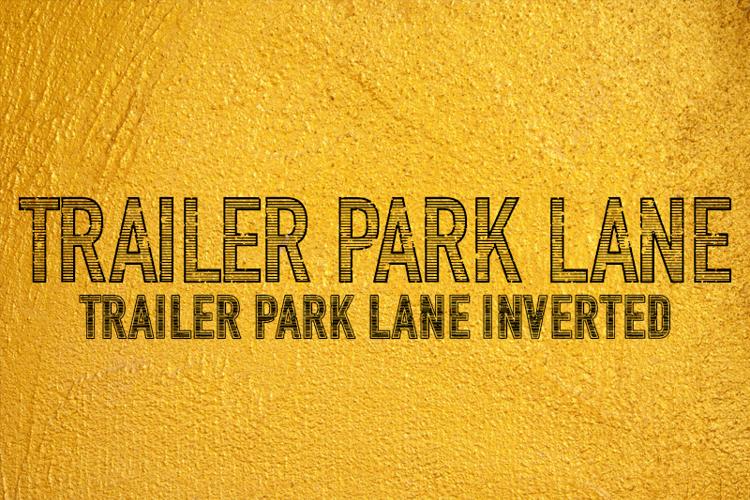 Trailer Park Lane Font