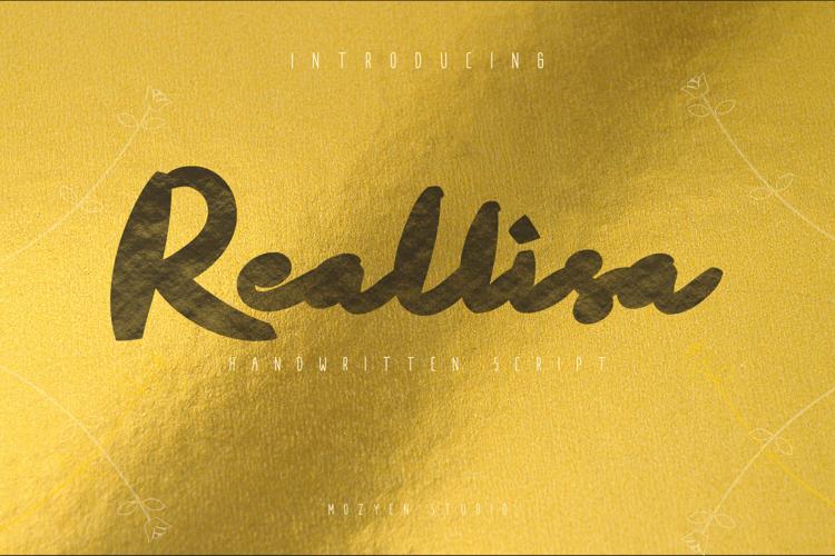 Reallisa Font