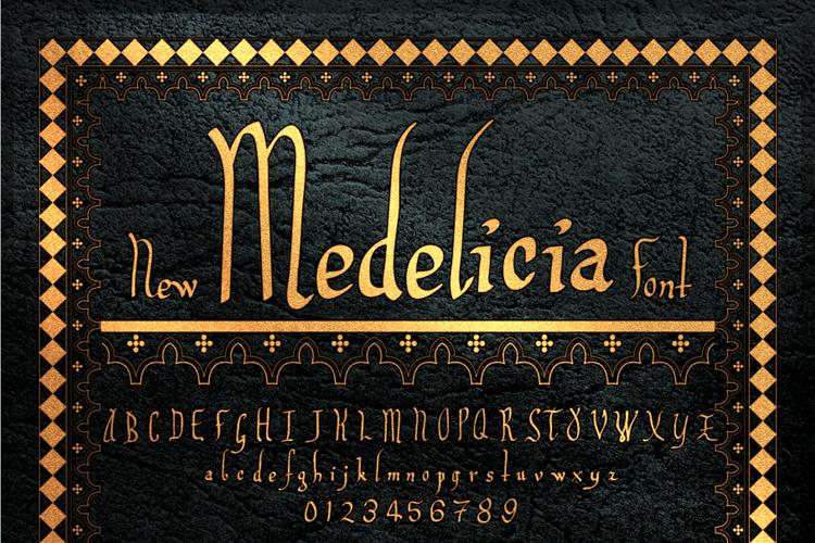 Medelicia Font