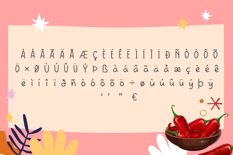 Cabe Rawit Font
